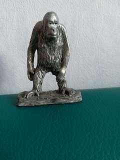 純銀馬來西亞馬猴