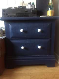 Night side table / drawers