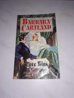 Love win by Barbara Cartland