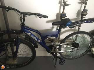 2x Aleoca mountain/foldable bicycle for sale