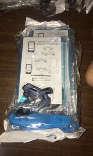 Blue Waterproof Case with Black Strap