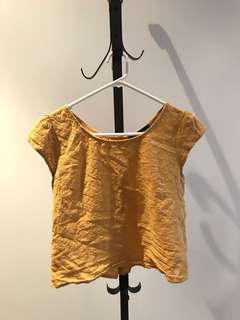 Princess Highway size 8 two way gold jasmine top