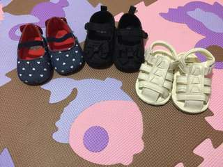 3 Baby Crib Shoes