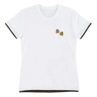 日本 Disney Store 直送 Summer Fun 2018 系列 Chip n Dale 鋼牙大鼻刺繡短袖 Tee / T-Shirt
