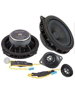 "Ground Zero 4"" 2 Way Component Speaker Set Upgrade Kit"