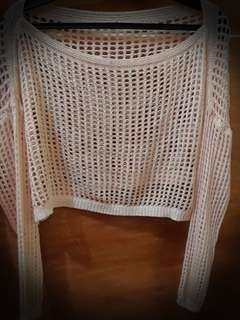 See through sweater