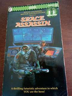 Fighting Fantasy Gamebook - Space Assassin