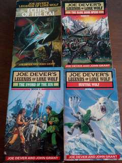 Legends of Lone Wolf 1,2,3,4