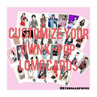 100PCS LOMO CARD RM25 ONLY PROMOTION ENDS 18/05
