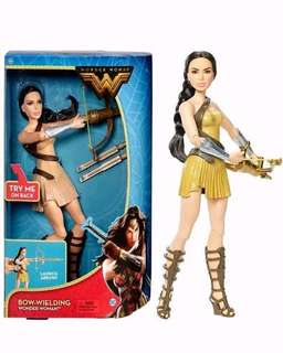 Wonder woman with bow collectors action figure