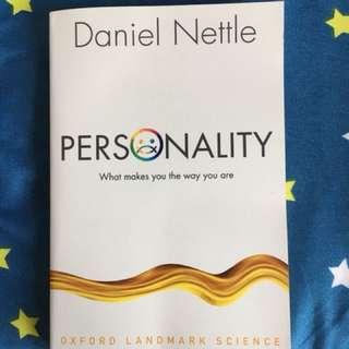 Personality (Daniel Nettle)
