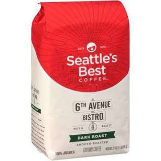 Seattle's Best Dark Roast Ground Coffee 907g