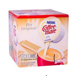 Coffee Mate 180 single serving portions