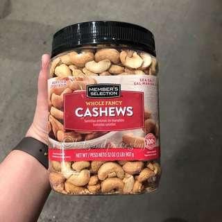 Member's Selection Cashews 907g