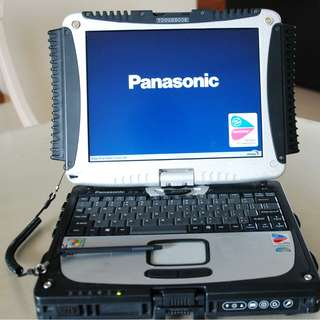 Panasonic Toughbook Tablet CF18 with RS232 Serial COM Port