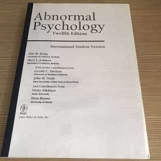 PL3236 Abnormal Psychology