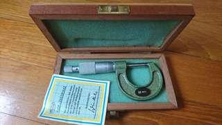 Vintage Germany Helios micrometer