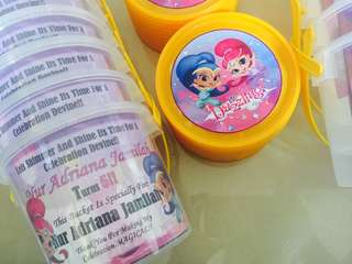 Goodie Buckets Favors