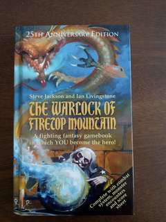 25th Anniversary Fighting Fantasy Gamebook - Warlock of Firetop Mountain
