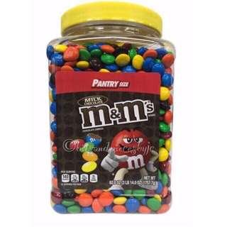M&M Milk Chocolate Pantry Size