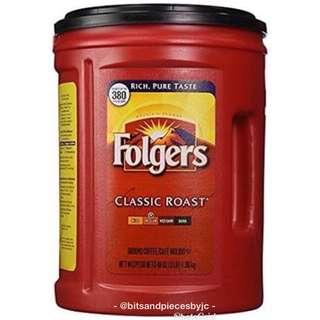 Folgers Classic Roast Ground Coffee 1.36kg