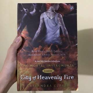 City of Heavenly Fire: The Mortal Instruments