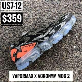 Vapormax x Acronym Moc2