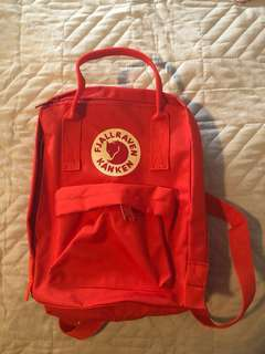 Red backpack (PRICE DROP $20 to $15)