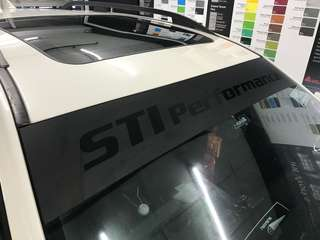 Sti performance sunshade for your car??