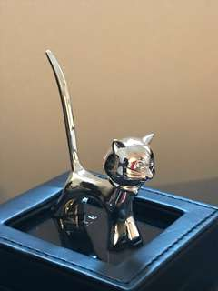 ARTE 貓貓戒指座 925 銀/ ARTE cat figured ring stand 925 silver