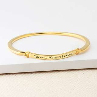 Custom Engraving Name Symbol Bracelet Personalized Bracelets Bangle Wristband