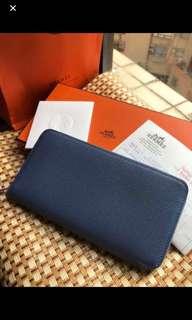Hermes Silk In Wallet