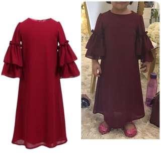 Poplook Jubah Dress preloved