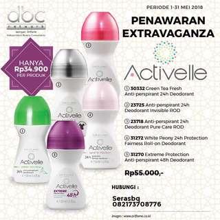 Activelle deodorant
