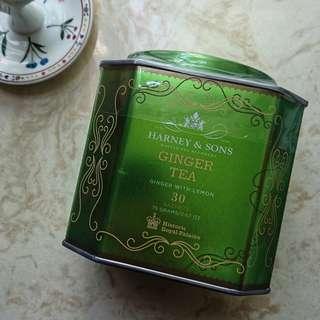 不議價 未開封 文青茶室選用 美國名茶 Harney & Sons 檸檬薑茶 30茶包入