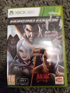 Xbox 360 Game Fight Edition 3 Games