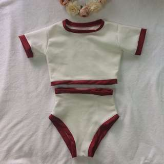 Andrea-inspired Two Piece Swimsuit