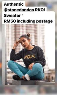 Stoned & Co RKOI Sweater