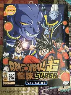 Dragon Ball Super DVD Original Vol 53-87