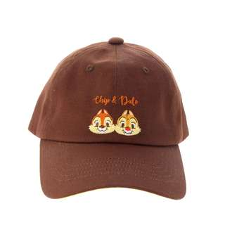 日本 Disney Store 直送 Summer Fun 系列 Chip n Dale 鋼牙大鼻刺繡 Cap 帽 / 鴨咀帽
