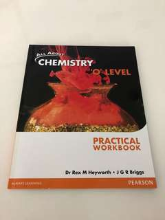 Chemistry O Level Practical Workbook (Pearson)