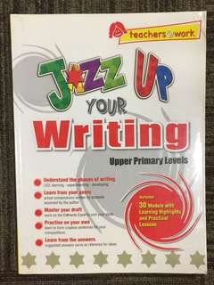 Jazz Up Your Writing - Upper Primary Levels