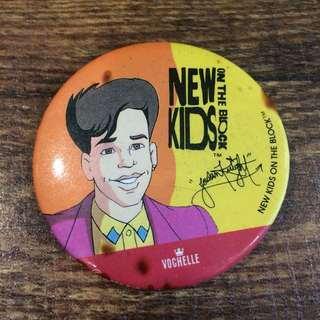 Vintage nkotb button