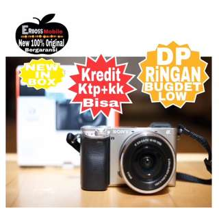 Kredit LOw Dp 900rb Sony Alpha A6000 Kit 16-50mm Ditoko ktp+kk Wa;081905288895