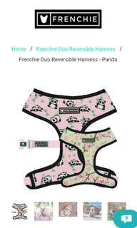 Frenchie Bulldog Panda harness - Medium