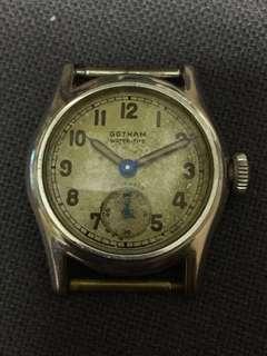 40s GOTHAM 小三針古董錶