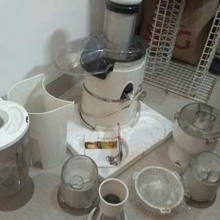 Genki juicer blender food processor
