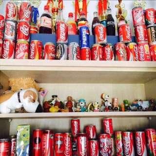 LIMITED EDITION Coca-cola & Pepsi collection!!!