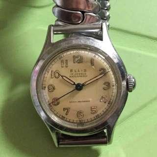 Vintage 50s ELLIS watch