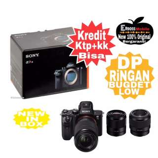 Kredit LOw Dp Sony Alpha A7 II Kit 28-70mm Ditoko promo ktp+kk bisa Wa;081905288895